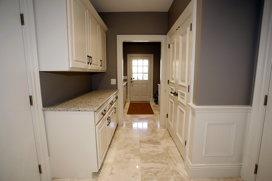 Laundry room built-in cabinetry