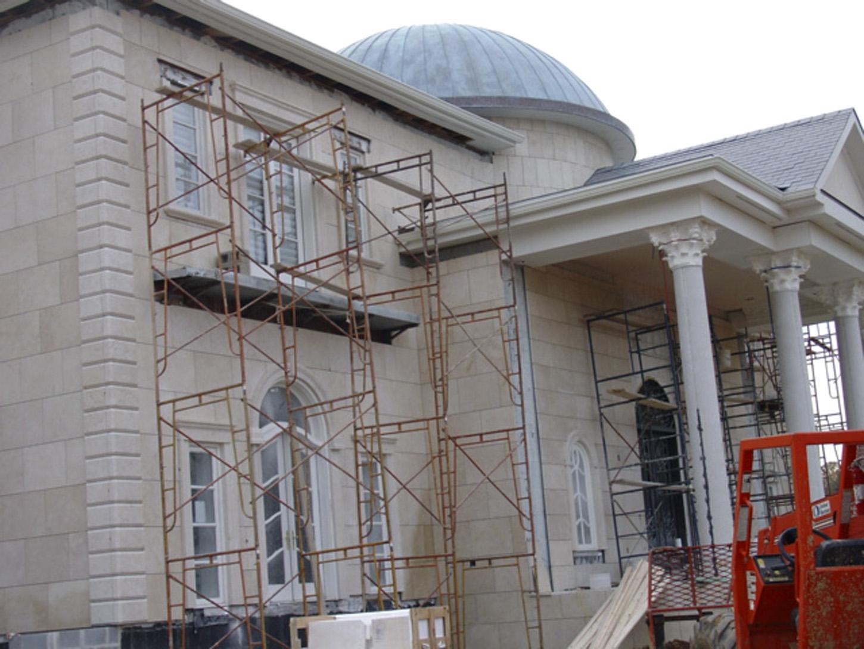 Estate Exterior Construction Dome